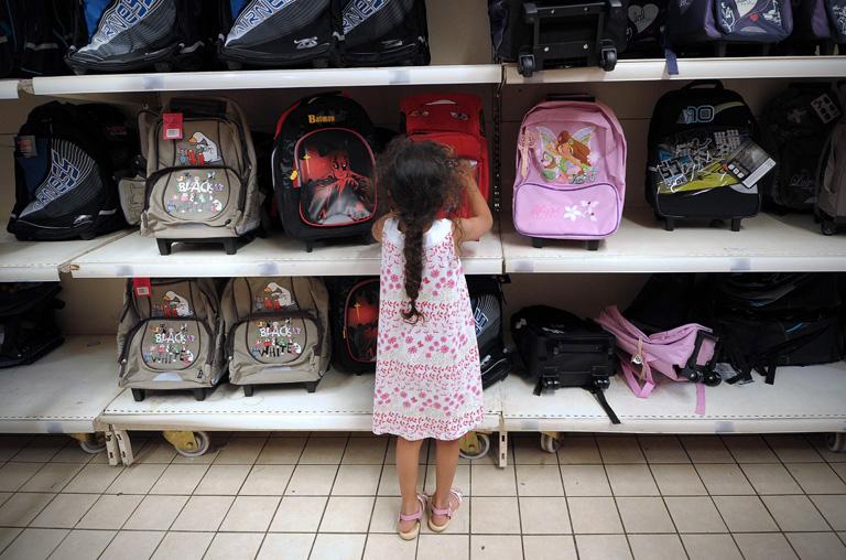 FRANCE-ECONOMY-EDUCATION-BACK-TO-SCHOOL