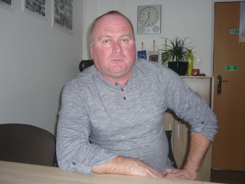 Molnár Zoltán Megyercs polgármestere