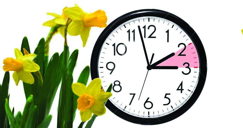 daylight-saving-time-change-clock-to-summer-dst-wall-going-winter-turn-forward-abstract-photo-changing-spring-110689939