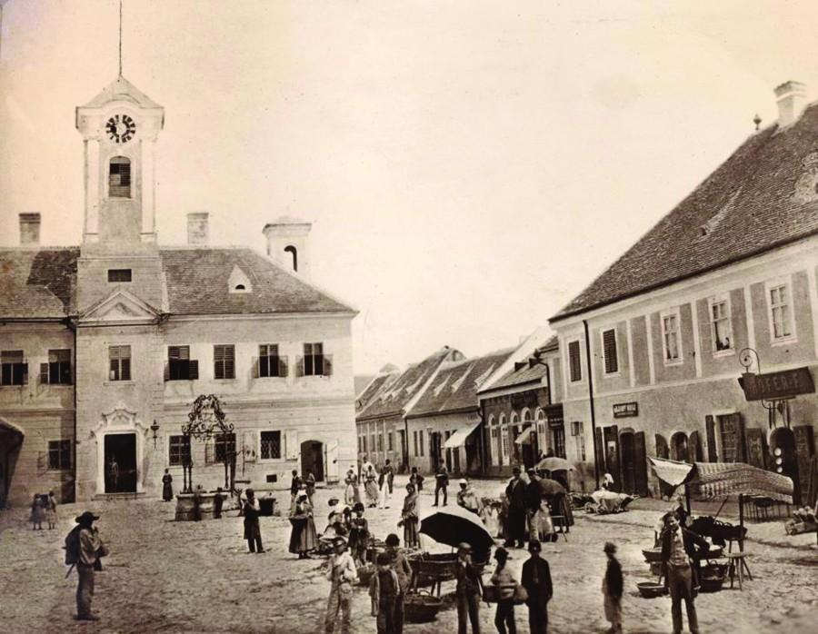 1. Komárom- piac (2) - 1860-as évek